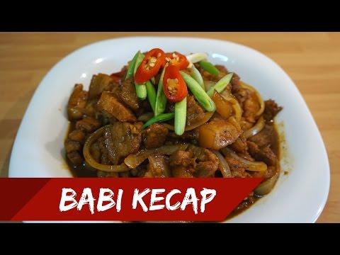 Babi Kecap Pork In Sweet Soy Sauce Eng Sub Masak