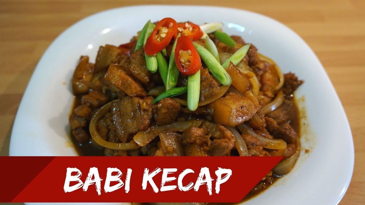 Babi Kecap Pork In Sweet Soy Sauce Eng Sub Masak Bersamaku 9 Samcan Special Belly Youtube