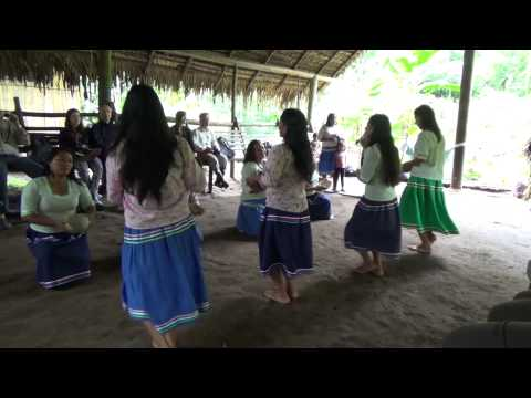 Kichwa Anangu Community Music & Dance at Napo Wildlife Center @ Yasuni National Park