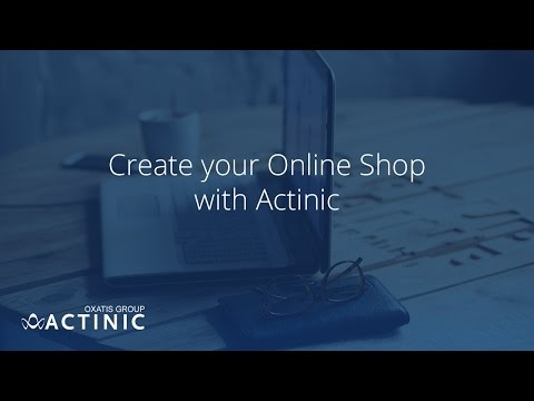 Create your Online Shop with Actinic