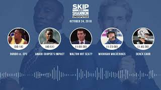 UNDISPUTED Audio Podcast (10.24.18) with Skip Bayless, Shannon Sharpe & Jenny Taft | UNDISPUTED