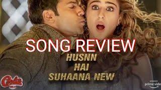 Husn Hai Suhana song review # Coolie No 1
