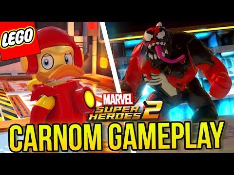LEGO MARVEL SUPER HEROES 2 - GAMEPLAY COM O CARNOM, NOVOS VEÍCULOS E PERSONAGENS