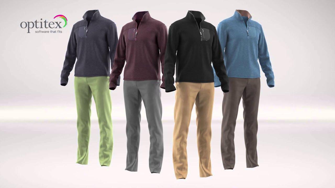 3d Fashion Design Software By Optitex Fleece Pants