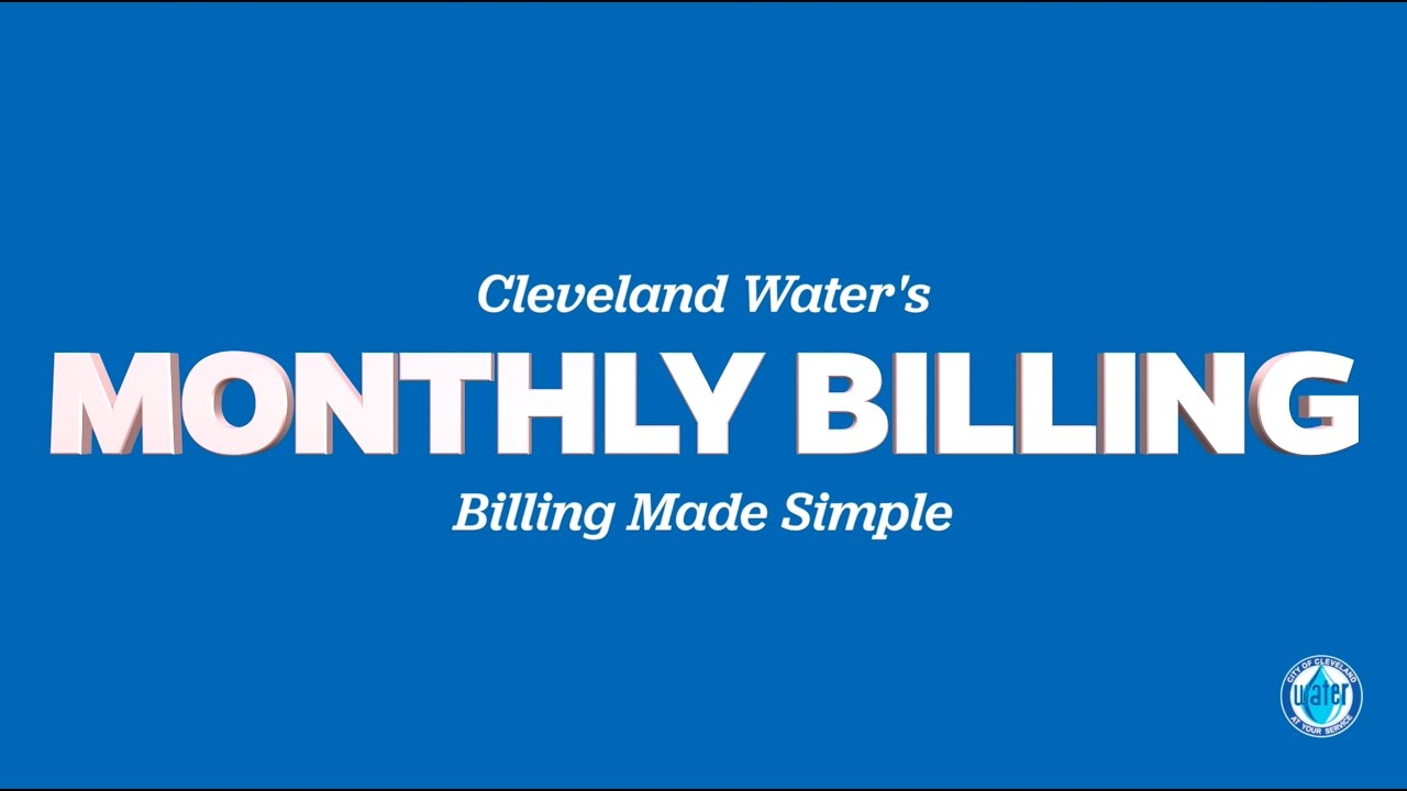 Monthly Billing | Cleveland Water Department