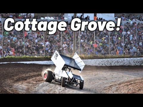 My First Sprint Car Race at Cottage Grove Speedway!