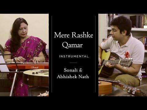 Mere Rashke Qamar Instrumental Version | Sonali Nath & Abhishek Nath
