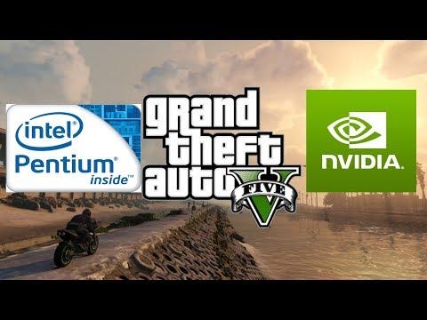 GTA V Intel Pentium G620 GT 1030 2GB Ram 8GB
