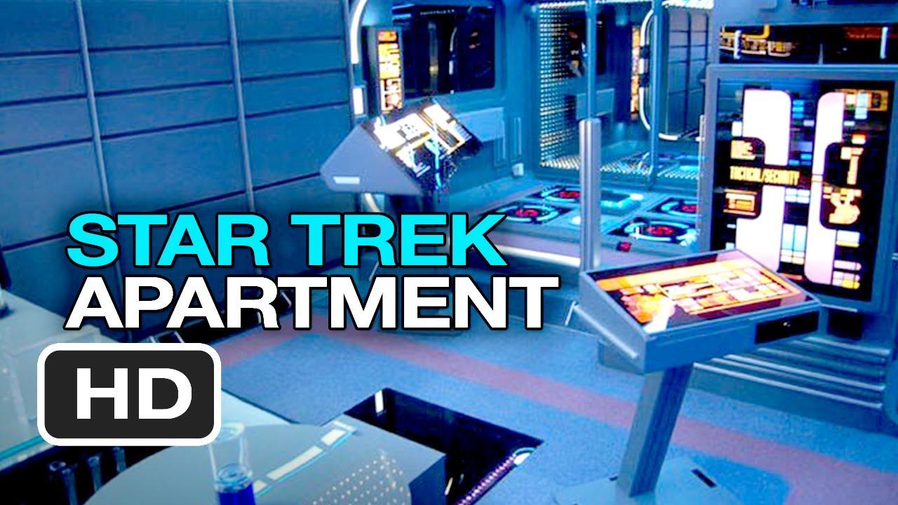 Tony Allyene S Star Trek Apartment