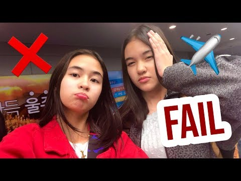 Korea Vlog: WORST Travel Experience?! | Princess And Nicole