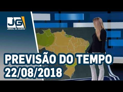 Previsão do Tempo - 22/08/2018