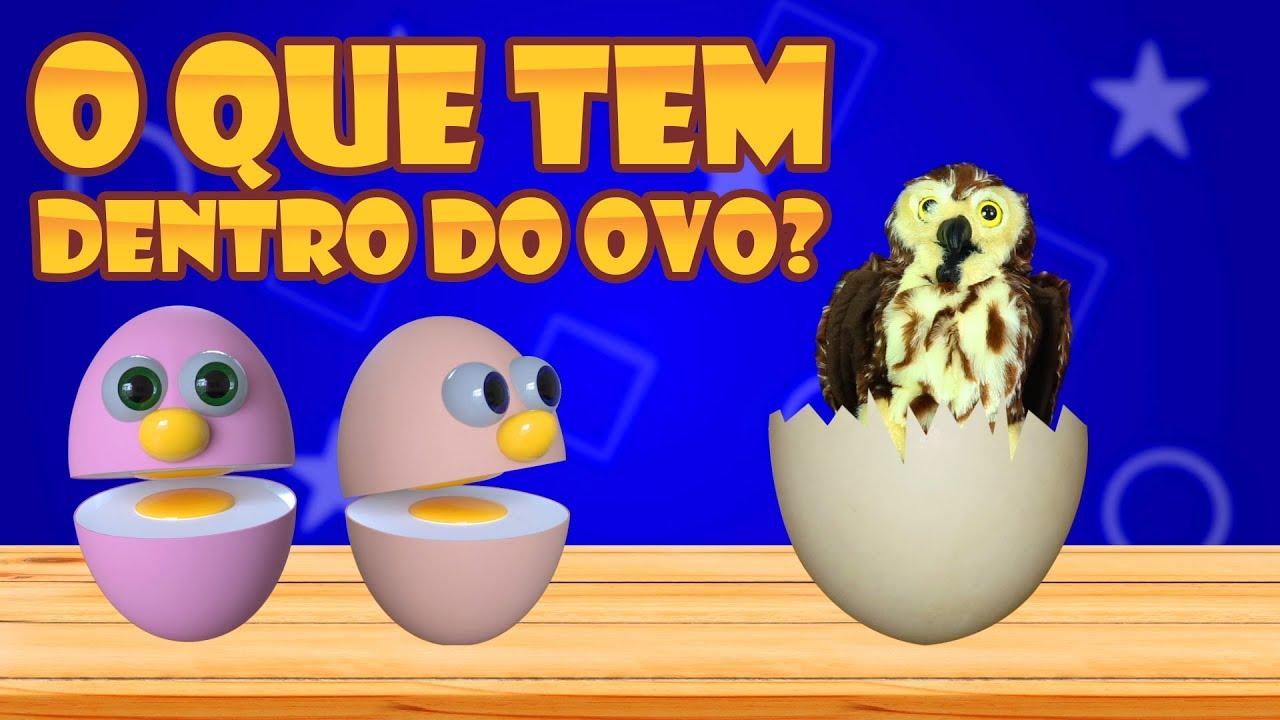 Música infantil - Dentro do ovo tem um bicho - Amigovos - desenho para crianças