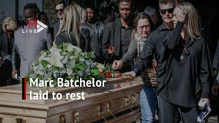 Former South African football star Marc Batchelor laid to rest