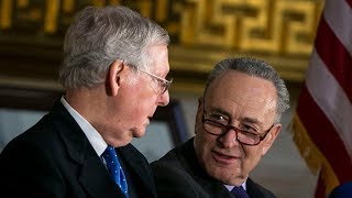 Dems Cave To GOP In Spending Bill Fight, Govt Shuts Down Anyway