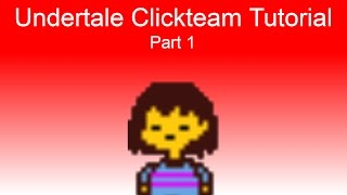 How to make a game like Undertale - Clickteam Fusion - OUTDATED!!!!!