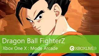 Dragon Ball FighterZ - Mode Arcade : combat sur Xbox One X en 1080p