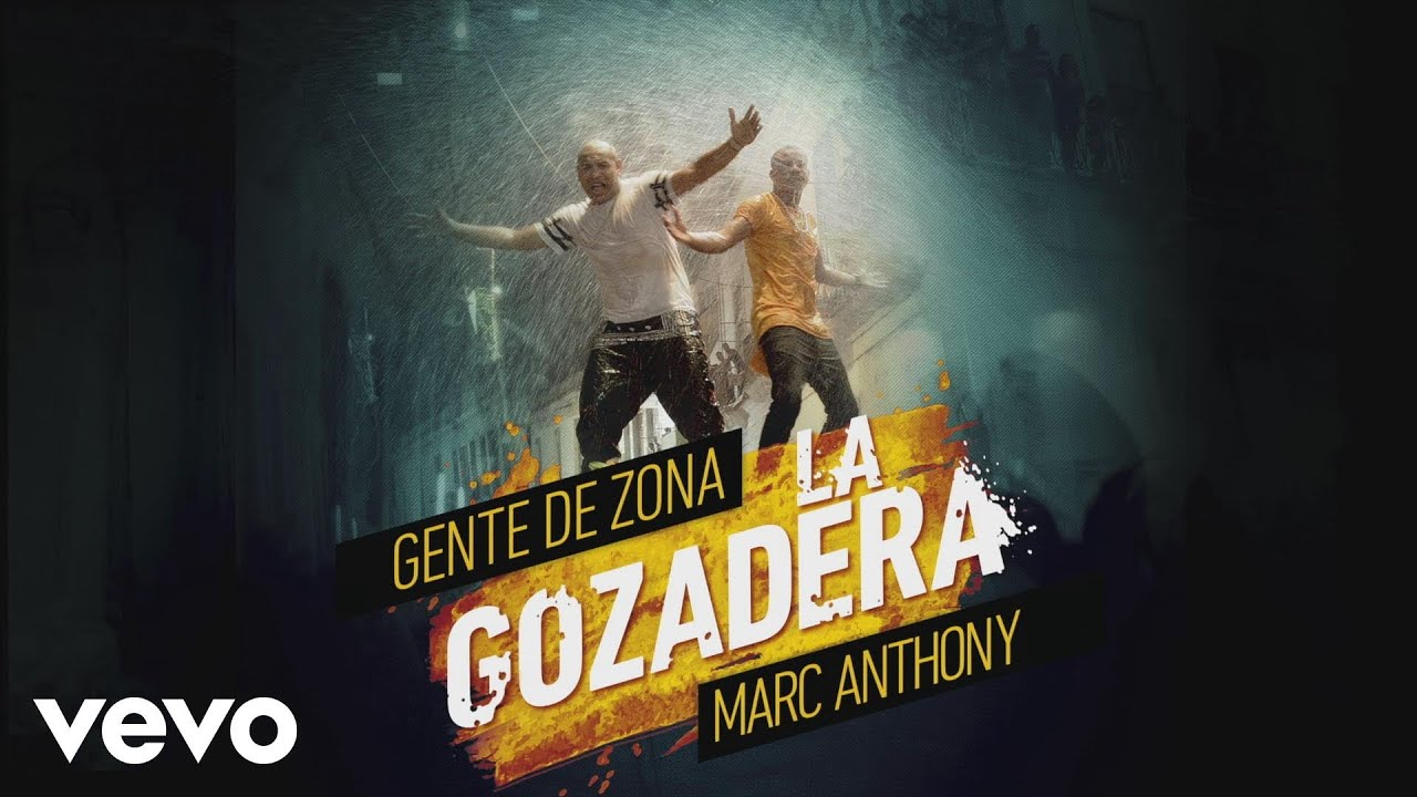 Gente de Zona - La Gozadera (Cover Audio) ft. Marc Anthony