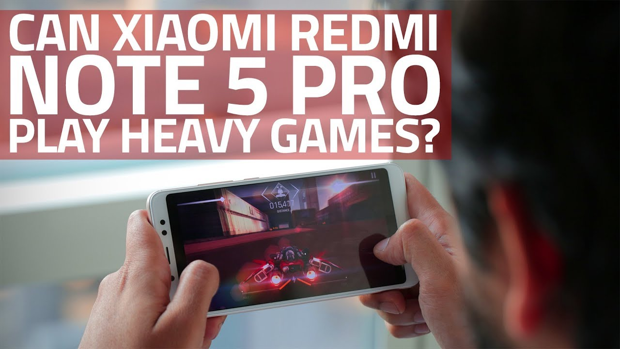 Xiaomi Redmi Note 5 Pro Gaming Review | Can It Play Heavy Games?