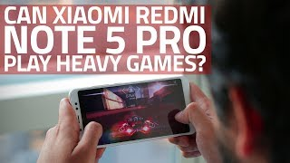 Xiaomi Redmi Note 5 Pro Gaming Performance Review | Can It Play Heavy Games?