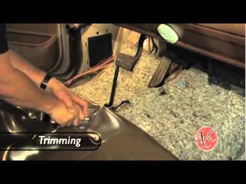 Installing Vinyl Flooring in a Pickup Truck - Replacing your truck carpet