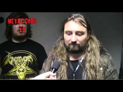 Viking Skull talk to Metal Gods TV at Hard Rock Hell!