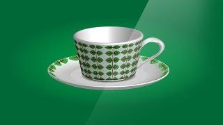 [caheovang.com] Bai 90 - Design tea cup 3d - review