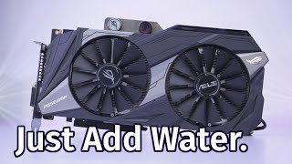 Asus GTX 1080 Ti Poseidon Review - Air AND Water!