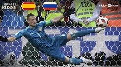 Espagne | Russie (1-1) TAB (3-4) Résumé du match