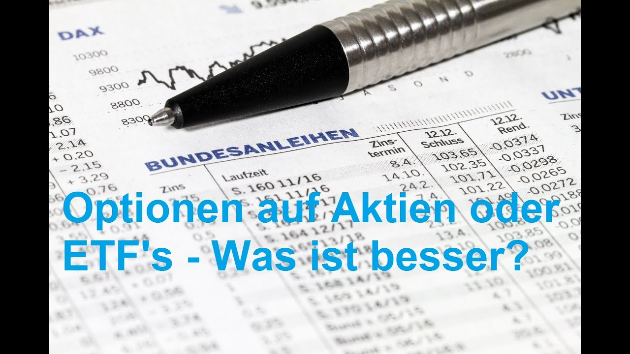 Optionen Aktien