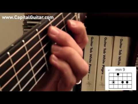 66 Bossa Nova Guitar Chords Pt 5 Minor Voicings Youtube