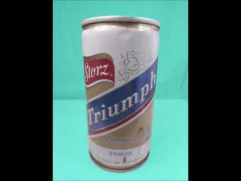 Storz Beer Vintage Ad - 1960s