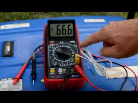 harbor freight - cen tech digital multimeter / voltmeter review p37772