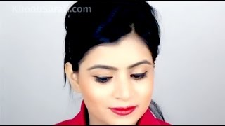 Air Hostess Makeup Look By KhoobSurati.com