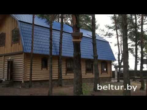 База отдыха Комарово - здание ресторана Комарово, Отдых в Беларуси