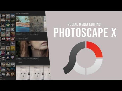 Photoscape X: Social Media Image Editing