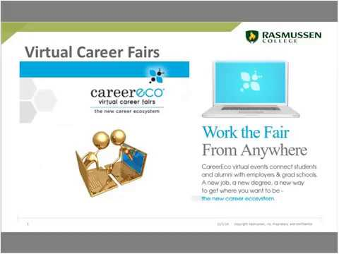 How to make the most of a Virtual Career Fair