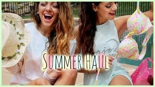HUGE Summer Haul | Niki and Gabi