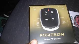 Instalação do Alarme Positron PX360BT - GOl QUADRADO Passo á passo