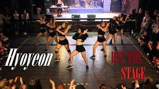 [K POP COVER BATTLE] Hyoyeon (효연) - Hit The Stage ( 힛더스테이지) BY PartyHard
