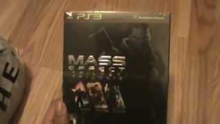 Unboxing (Abriendo) Mass Effect Trilogy PS3