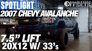 Spotlight - 2007 Chevy Avalanche, 7.5
