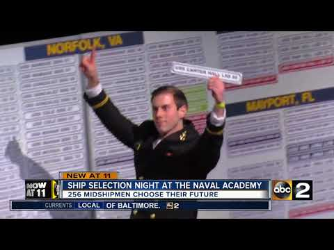 Naval Academy Ship Selection Night