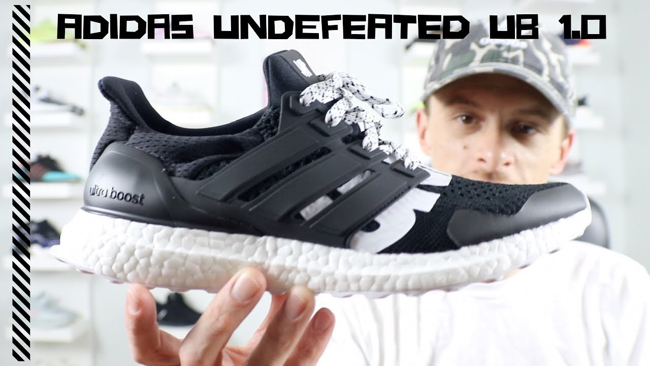 6a35de601165 Adidas UNDEFEATED Ultraboost 1.0 review (my first giveaway  metal art)