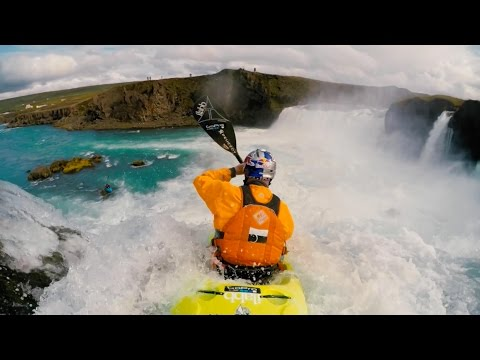Taking on the Waterfall of the Gods | Kayaking Iceland Part 2