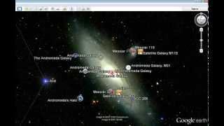 Google sky (explore outer space)