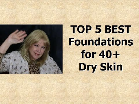 Top 5 BEST Foundations !  * 40+  Dry Skin and Wrinkles! thumbnail