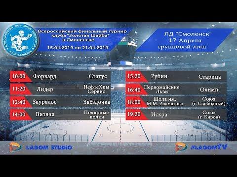 """17.04.19 """"Рубин"""" (Нижегородская область) - """"Старица"""" (Тверская область)"""