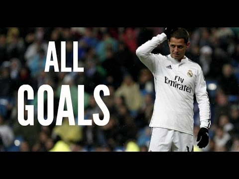 Javier Hernandez - All Goals for Real Madrid 2014/15
