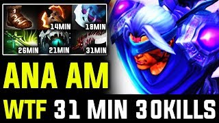 Ana [ANTI MAGE] Getting Out Of Control - 30 Kills In 31 Min | 7.21d Dota 2