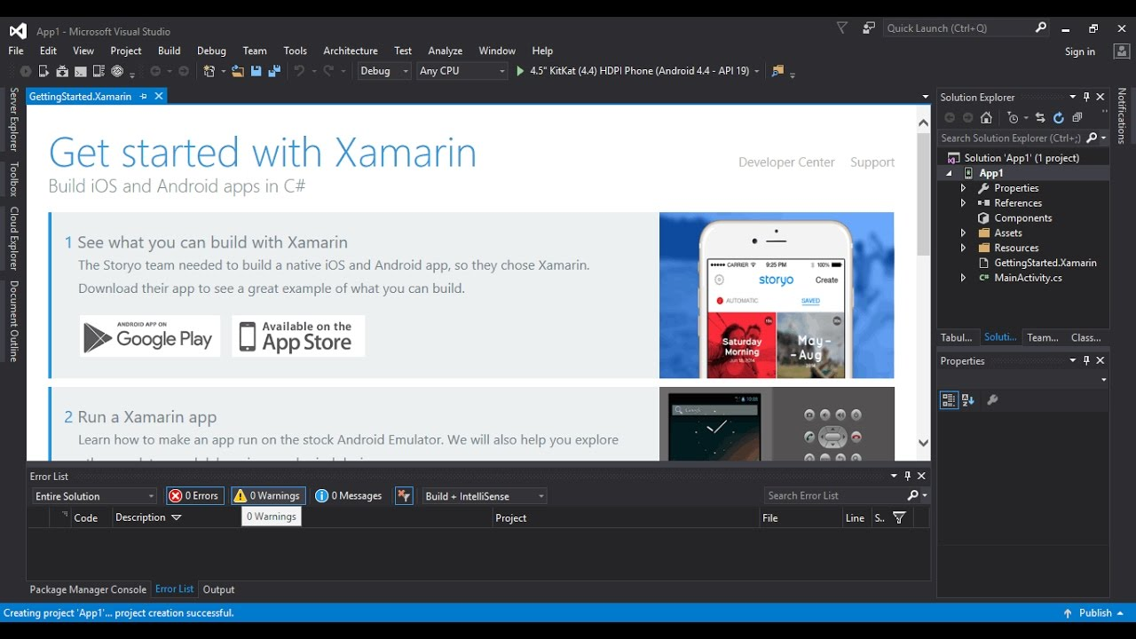 Downgrade or Upgrade Xamarin for Visual Studio